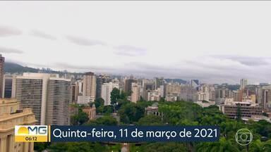 Bom Dia Minas – Edição de quinta-feira, 11/3/2021 - Bom Dia Minas – Edição de quinta-feira, 11/3/2021