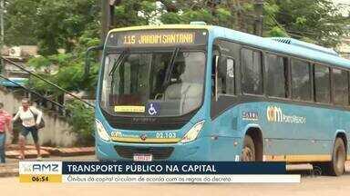 Transporte público segue as normas do novo decreto em Porto Velho - E pode ser uma alternativa de transporte para economia de gasolina.