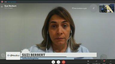 Veja os cuidados que devem ser mantidos depois da vacina contra a Covid-19 - Infectologista Susi Berbert fala sobre o assunto.