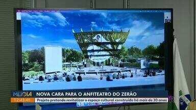 Proposta para revitalização do Zerão é apresentada em coletiva na Prefeitura de Londrina - Projeto pretende revitalizar o espaço cultural construído há mais de 30 anos.