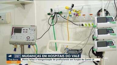 Hospitais do Vale do Itajaí reorganizam quadro de profissionais em razão da Covid-19 - Hospitais do Vale do Itajaí reorganizam quadro de profissionais em razão da Covid-19
