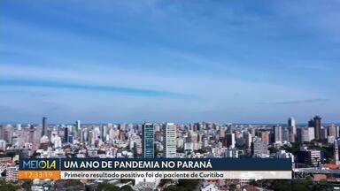 Coronavírus completa um ano no Paraná - Médica e secretária de saúde de Curitiba revelam detalhes do dia em que o primeiro caso foi confirmado.