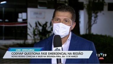 Codivap questiona fase emergencial na região - Prefeitos se reuniram com o governo estadual.