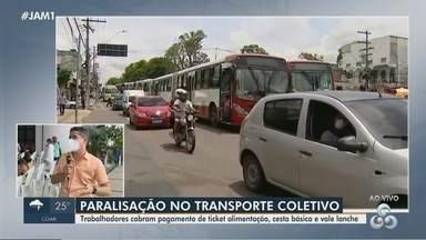 Prefeito de Manaus fala sobre a paralisação do transporte coletivo - Prefeito de Manaus fala sobre a paralisação do transporte coletivo.