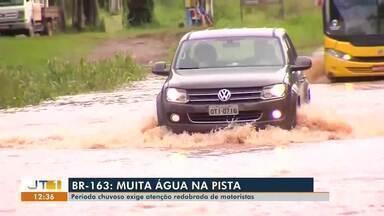 Fortes chuvas têm causado alagamentos em Santarém - Confira na reportagem.