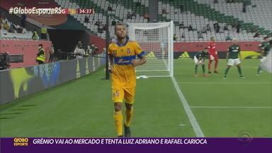 Grêmio vai ao mercado da bola e tenta a contratação de Luiz Adriano e Rafael Carioca - O presidente Romildo Bolzan deixou claro que o clube vai atrás de jogadores prontos para entrar em campo.