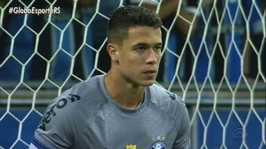 Criado na base do Grêmio, Brenno recebe chance de titular no Gauchão - Goleiro deve nos próximos jogos do Grêmio.