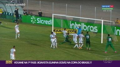 Goiás perde do Boavista por 3 a 1 e é eliminado da Copa do Brasil - Verdão podia até empatar, mas foi derrotado em Saquarema (RJ)