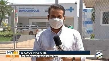 Prefeito de Rondonópolis anuncia instalação de 10 novas UTIS - Prefeito de Rondonópolis anuncia instalação de 10 novas UTIS