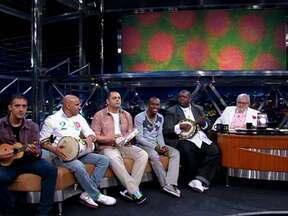 Grupo Exaltasamba fala de sua carreira - Com mais de 20 anos de carreira, eles lançam o CD e DVD 'Pagode do Exalta - Ao Vivo'