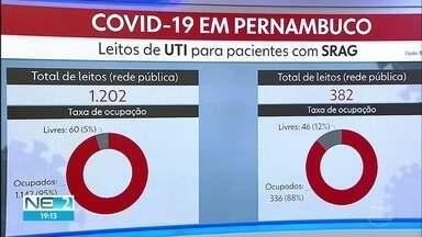 Pernambuco confirma 1.566 casos de Covid-19 e 49 mortes - Números foram registrados nesta sexta (12), um ano após a confirmação dos dois primeiros casos do estado.