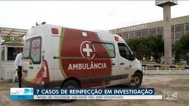 Maranhão investiga sete casos de reinfecção pela Covid-19 - E os novos casos da doença não param de aumentar.