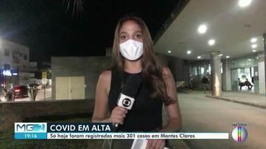 Covid-19: Montes Claros tem 21.311 casos e 359 mortes - Segundo boletim epidemiológico desta sexta (12), 287 pacientes estão internados, sendo 244 de Montes Claros. Ainda de acordo com o levantamento, 19.221 pessoas estão recuperadas.
