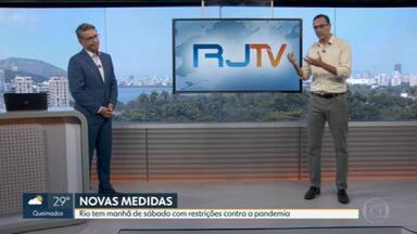 Edimilson Ávila comenta o novo pacote de regras restritivas - Estado baixou decreto com regras semelhantes às do Município do Rio