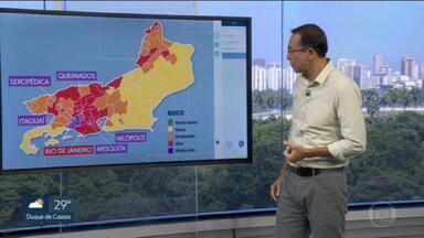 Cinco municípios do Grande Rio entram em risco muito alto para Covid-19 - Itaguaí, Mesquita, Nilópolis, Queimados e Seropédica estão na bandeira roxa.