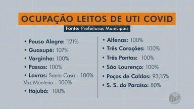 Confira a taxa de ocupação dos leitos de UTI para Covid-19 no Sul de Minas - Confira a taxa de ocupação dos leitos de UTI para Covid-19 no Sul de Minas