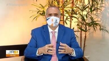 Secretário de Saúde do Tocantins fala sobre a distribuição de doses contra a Covid - Secretário de Saúde do Tocantins fala sobre a distribuição de doses contra a Covid