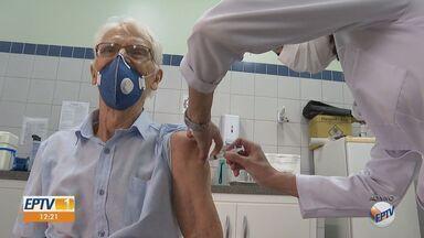 Ribeirão Preto inicia agendamento da vacinação contra a Covid em idosos entre 69 e 71 anos - Site da Prefeitura apresentou instabilidade durante agendamento.