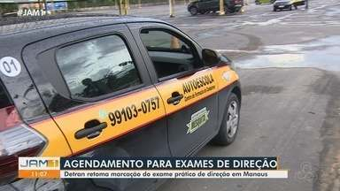 Detran-AM volta a realizar agendamentos de provas de direção - Detran retoma marcação do exame prático de direção em Manaus.