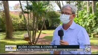 Prefeito de Rio Paranaíba atualiza situação da Covid-19 no município - Até o momento, são 918 casos confirmados na cidade que tem pouco mais de 12 mil habitantes; 18 pessoas já morreram em decorrência da doença.