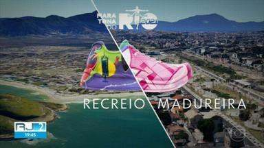 Organização da Maratona do Rio homenageia profissionais de saúde com esculturas pela cidade - Na reportagem de hoje, vamos conhecer um pouco mais sobre os homenageados Matheus Cabral, médico intensivista, e Aline Pimentel, técnica de enfermagem.