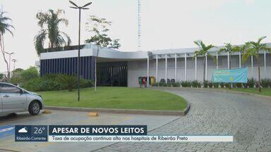 Falta de profissionais de saúde freia abertura de leitos para Covid-19 em Ribeirão Preto - Hospital das Clínicas poderia abrir mais dez leitos de UTI nesta semana, mas medida foi adiada.