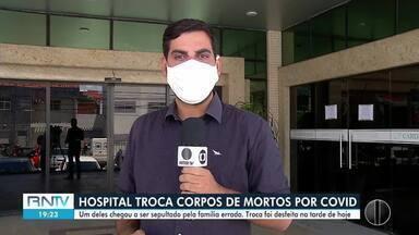Hospital privado troca corpos de mortos por Covid-19 - Hospital privado troca corpos de mortos por Covid-19