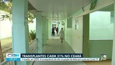 Número de transplantes de órgãos cai 31% no Ceará em 2020 - Confira mais notícias em g1.globo.com/ce