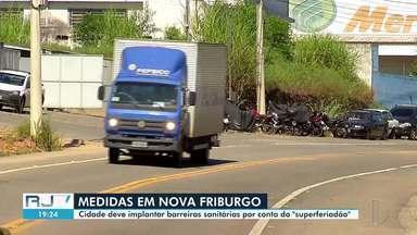 Nova Friburgo, RJ, decide implantar barreiras sanitárias durante o 'superferiado' - De acordo com o município, medida buscar conter fluxo de turistas. Critérios das barreiras ainda foram divulgados.