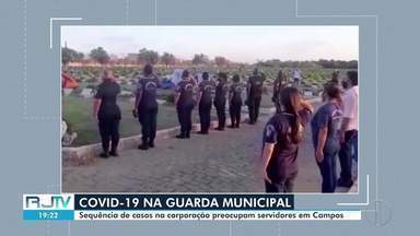 Sequência de mortes por Covid-19 na Guarda de Campos, RJ, preocupa servidores - Guarda Civil tem série de casos confirmados, internações e mortes. Em cinco dias, cinco guardas municipais perderam a luta contra o novo coronavírus.