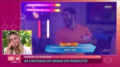 Sarah nega interesse em Rodolffo e diz que cantadas em festa eram brincadeira - Brasiliense explica última conversa que teve com o sertanejo e por que não quis citar atitude machista de Rodolffo com Fiuk