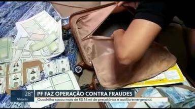 Polícia Federal prende dois funcionários da Caixa suspeitos de fraudes no auxílio emergencial - Agentes foram às ruas em todo o Brasil para cumprir 12 mandados de prisão e 77 de busca e apreensão.