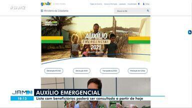 Lista de beneficiários do novo Auxílio Emergencial já pode ser consultada - Lista de beneficiários do novo Auxílio Emergencial já pode ser consultada