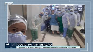 Especialista explica método de intubação, muito usado na pandemia - Especialista explica método de intubação, muito usado na pandemia