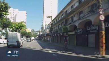 Prefeitos da Baixada Santista decidem não estender período de lockdown - Região volta à fase emergencial na segunda-feira (5).