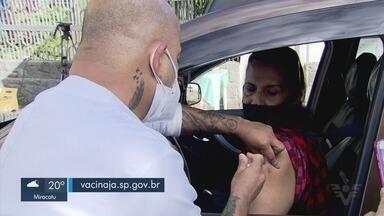 Vacinação de idosos com mais de 68 anos foi antecipada em algumas cidades da região - Santos, Praia Grande e São Vicente anteciparam para esta quinta-feira (1º) a vacinação de pessoas desta faixa etária.