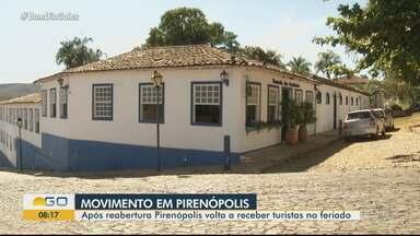 Pirenópolis recebe turistas, mas com restrições - Cidade tem várias regras para evitar disseminação da Covid-19.
