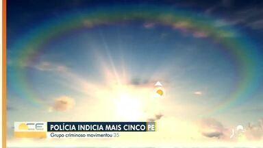 Veja a previsão do tempo com Bárbara Sena - Saiba mais em: g1.globo.com/ce