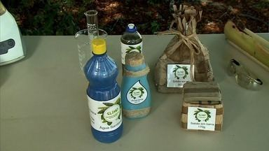 Projeto de estudantes alagoanas de escola pública conquista prêmio nacional - Alunas são de Pilar e desenvolveram produtos de limpeza usando a folha da bananeira.