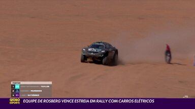 Equipe de Rosberg vence estreia em rally com carros elétricos - Equipe de Rosberg vence estreia em rally com carros elétricos