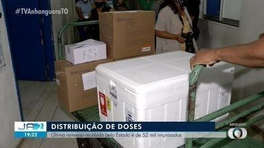 Estado inicia distribuição de última remessa da vacina recebida - Estado inicia distribuição de última remessa da vacina recebida