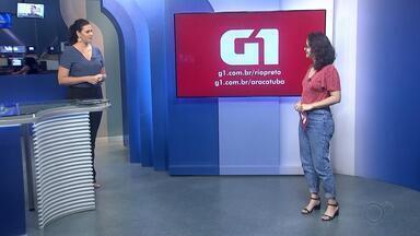 Heloísa Casonato traz os destaques do G1 Rio Preto e Araçatuba - Heloísa Casonato traz os destaques do G1 Rio Preto e Araçatuba no TEM Notícias desta terça-feira (6).