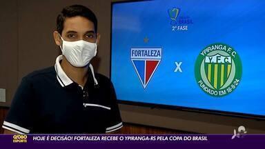 Decisão para o Leão! Fortaleza recebe o Ypiranga-RS pela Copa do Brasil - Decisão para o Leão! Fortaleza recebe o Ypiranga-RS pela Copa do Brasil