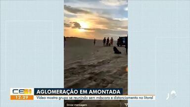 Polícia Civil identifica grupo que promovia aglomerações em Amontada - Saiba mais em g1.com.br/ce