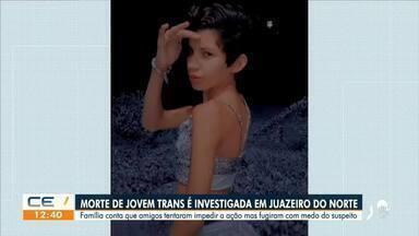 Morte de transsexual é investigada em Juazeiro do Norte - Saiba mais em g1.com.br/ce