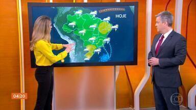 Meteorologia prevê chuva para grande parte do país nesta quarta-feira - Em algumas regiões, a chuva pode ser forte e volumosa. Confira a previsão do tempo para todo o Brasil.