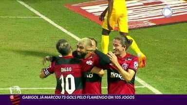 Gabigol já marcou 73 gols pelo Flamengo em 105 jogos - Gabigol já marcou 73 gols pelo Flamengo em 105 jogos