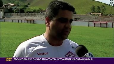Técnico Marcelo Cabo reencontra o Tombense na Copa do Brasil - Técnico Marcelo Cabo reencontra o Tombense na Copa do Brasil