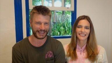 Programa de 07/04/2021 - Fernanda Lima e Rodrigo Hilbert falam sobre o casamento, os filhos e o projeto 'Bem Juntinhos', primeiro programa que apresentarão juntos.