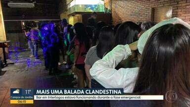 Polícia interrompe festa clandestina na Zona Sul de SP - Mais de 40 pessoas no local, das quais 10 foram levadas para a delegacia.